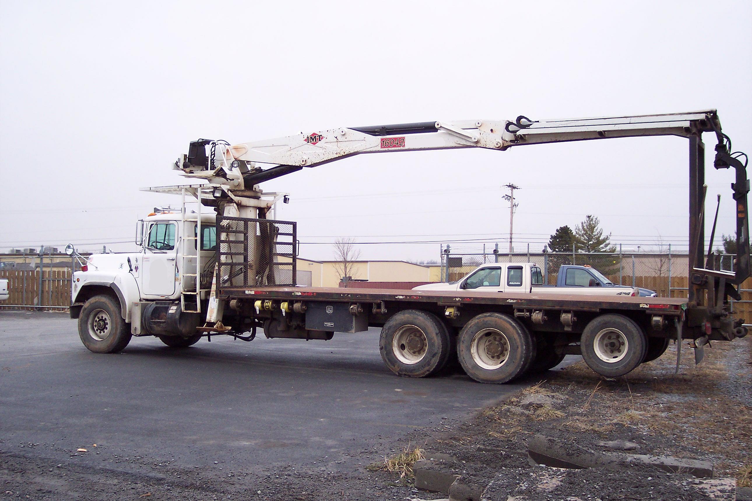 Atlas Truck Sales >> IMT 16042 Drywall, Wallboard, Boom Truck For Sale.