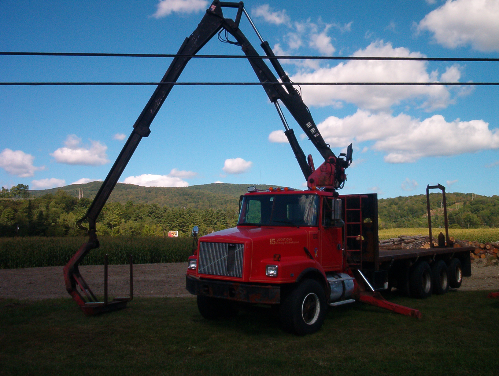 Atlas Truck Sales >> Prentice TS33 Drywall, Wallboard, Sheetrock Crane Truck For Sale.