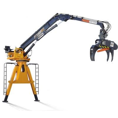 Rotobec Crane Grapple Loader Knuckleboom Crane