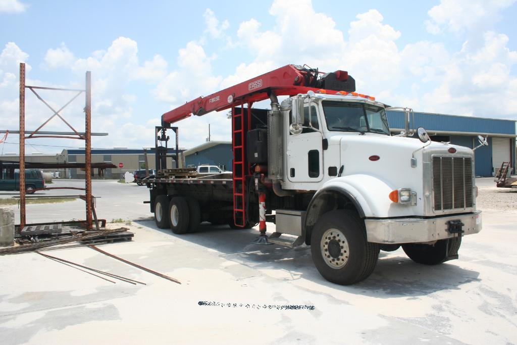 Truck Bed Slide Out Tool Box >> Fassi F280SE.22 Drywall, Wallboard Truck For Sale.